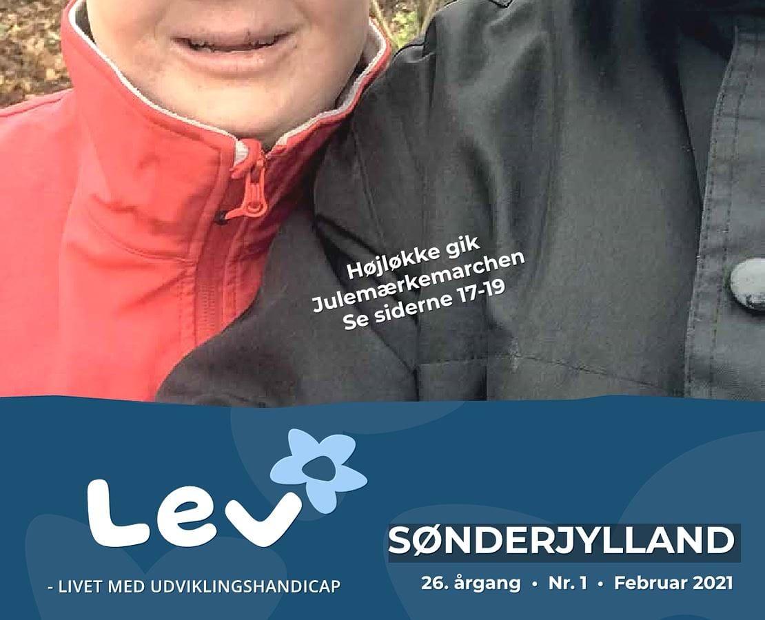 Forside bladet Lev Sønderjylland 1 2021